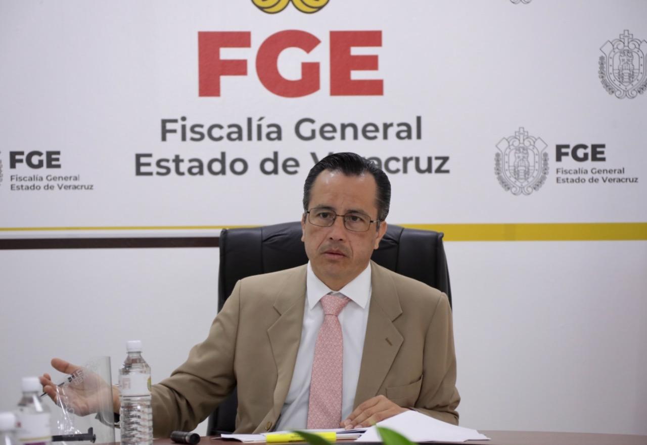Reitera gobernador Cuitláhuac García que en Veracruz no se permitirá más violencia e impunidad