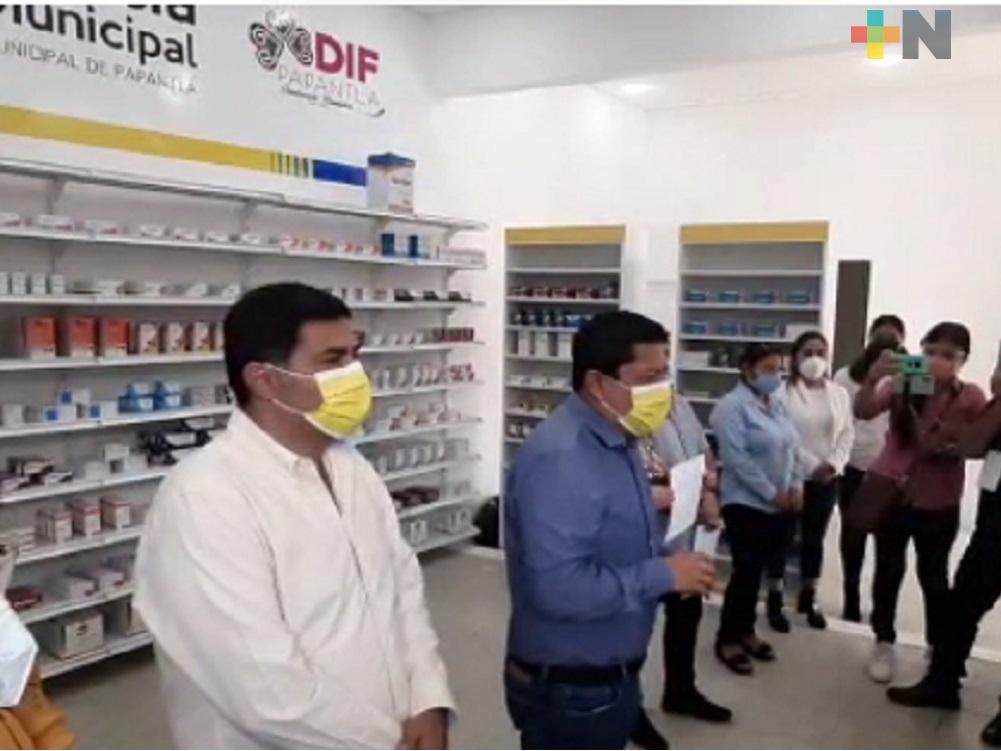 En Papantla ponen en marcha farmacia municipal; ofrece medicamentos a muy bajo costo