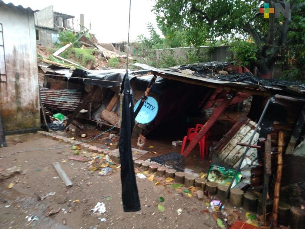 En Villa Allende, fallece persona de la tercera edad al caerle una barda