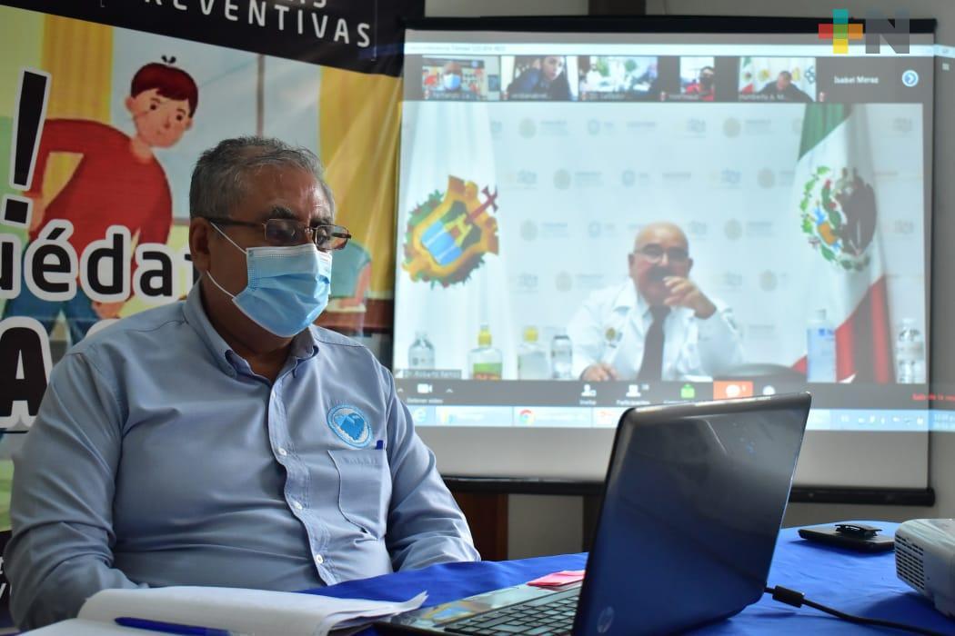 Continúa coordinación entre Secretaría de Salud y municipios de la huasteca