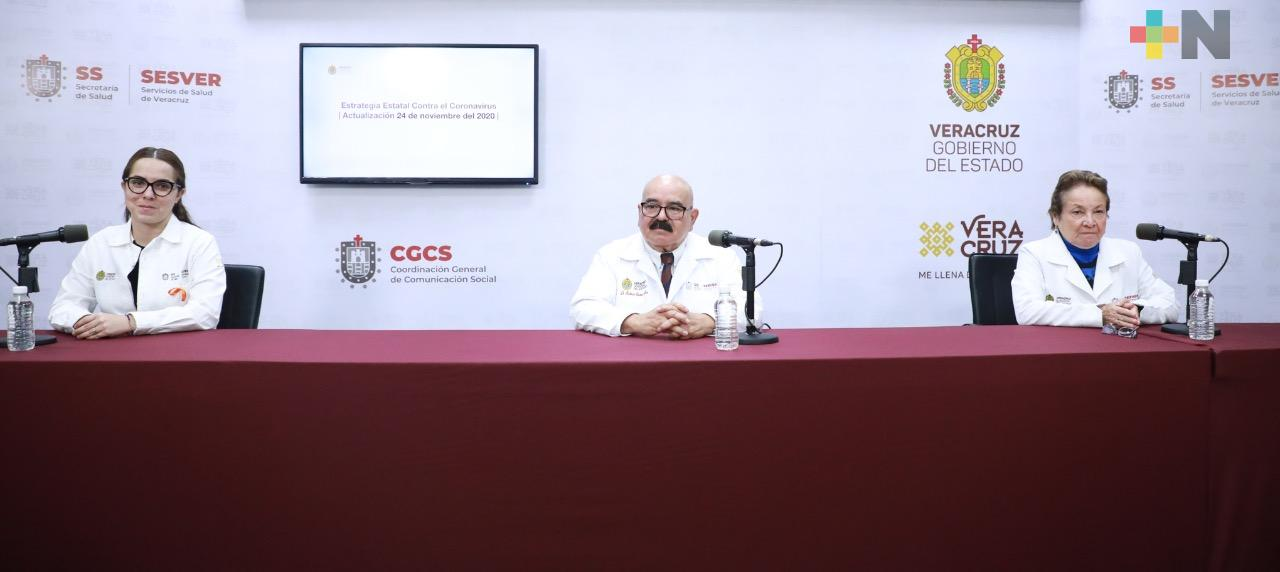 Acumula Veracruz 39 mil 176 casos positivos a COVID-19
