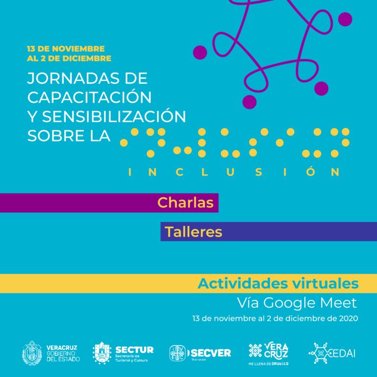Invita IVEC a charlas de sensibilización sobre la inclusión