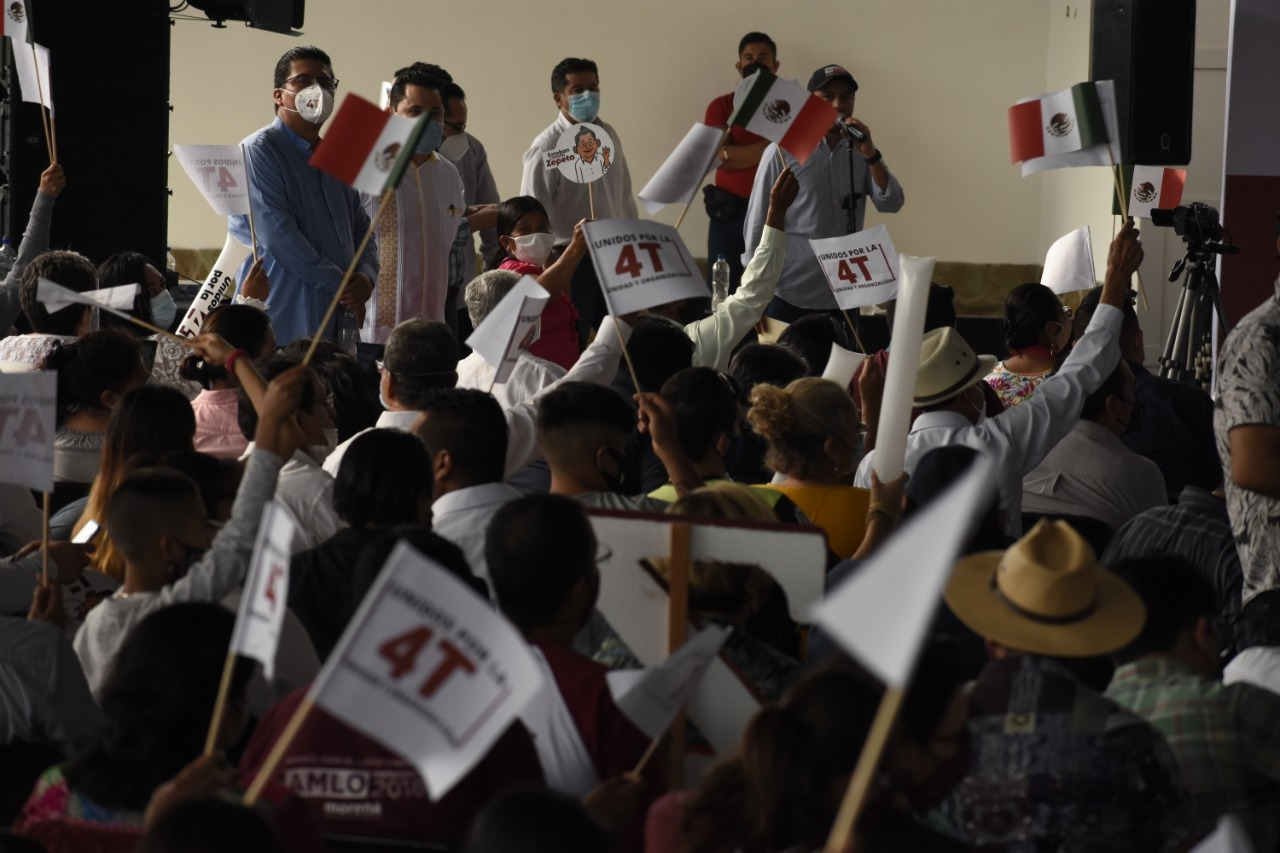 Consejeros estatales de Morena solicitan elección de dirigencias a través de encuesta