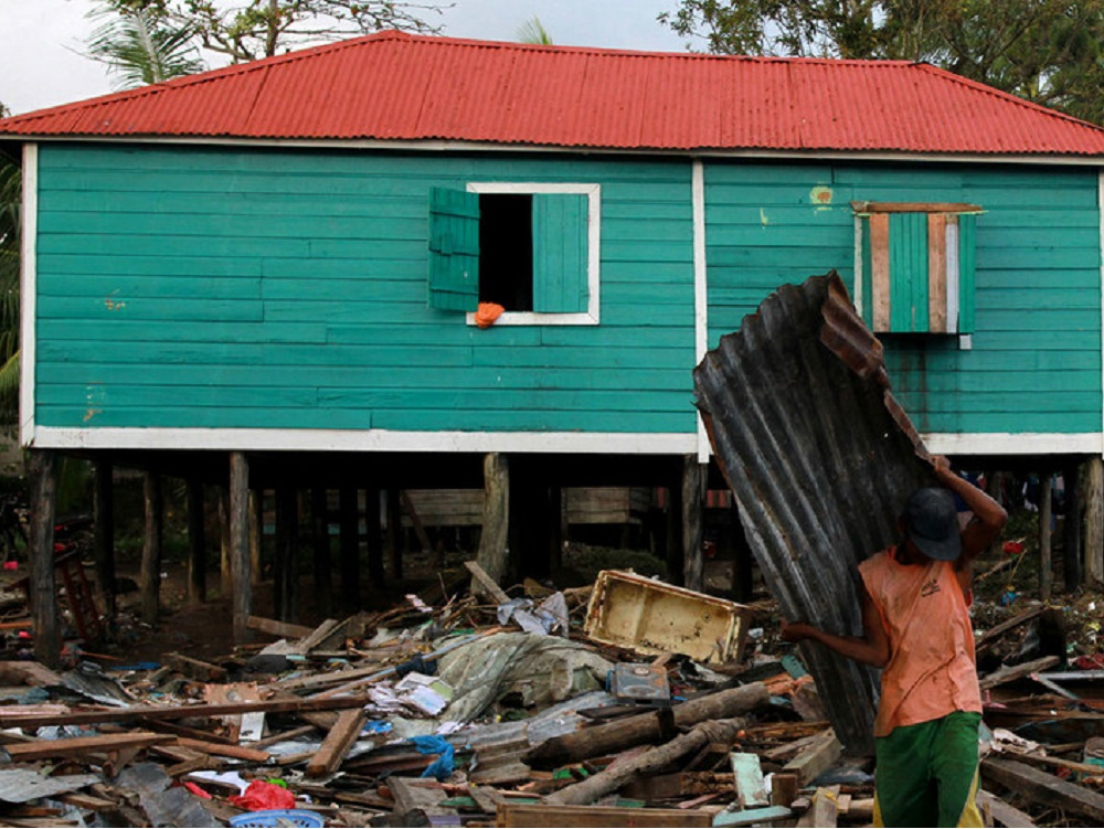 ONU ayuda a damnificados por  huracán Eta en América Central y sur de México