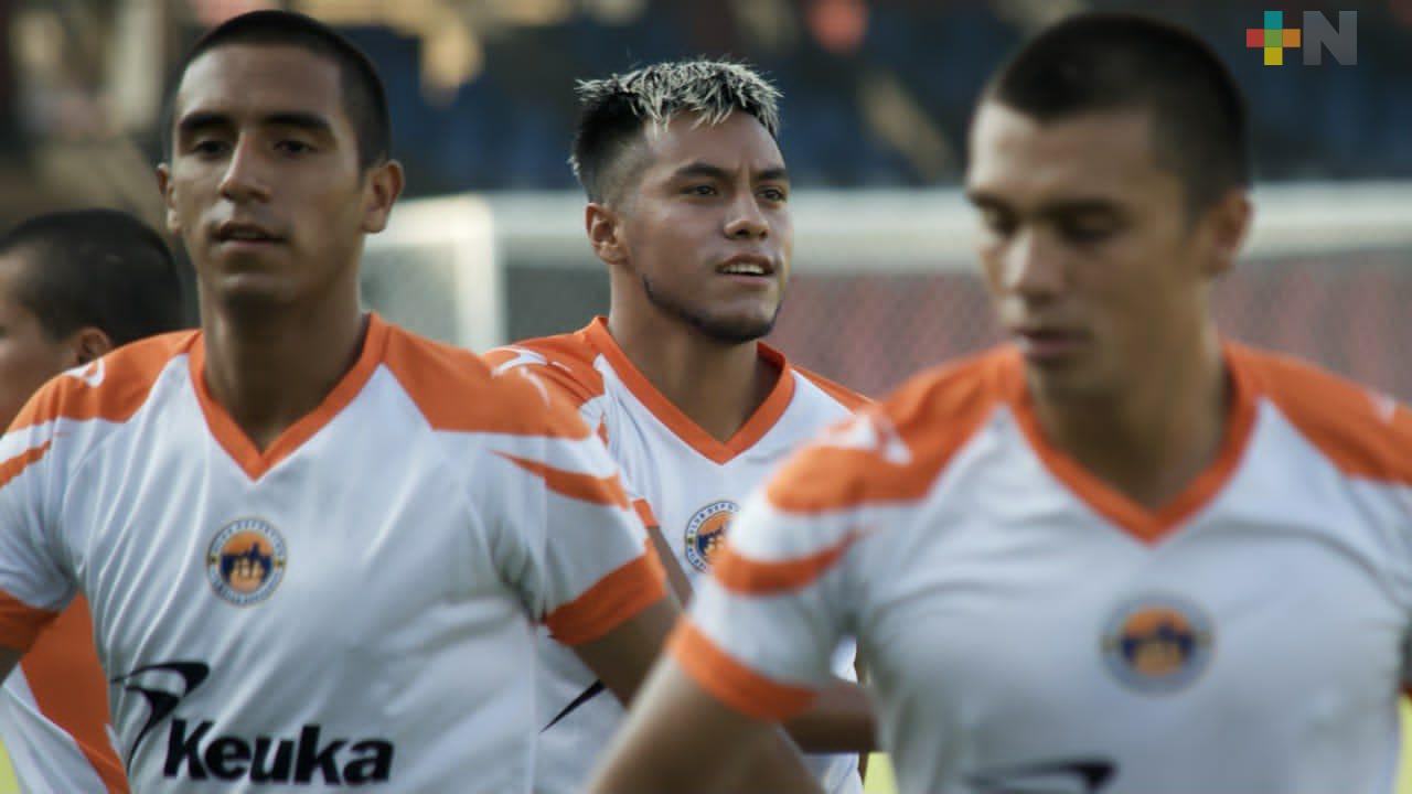 Atlético Veracruz listo para enfrentar a Morelos