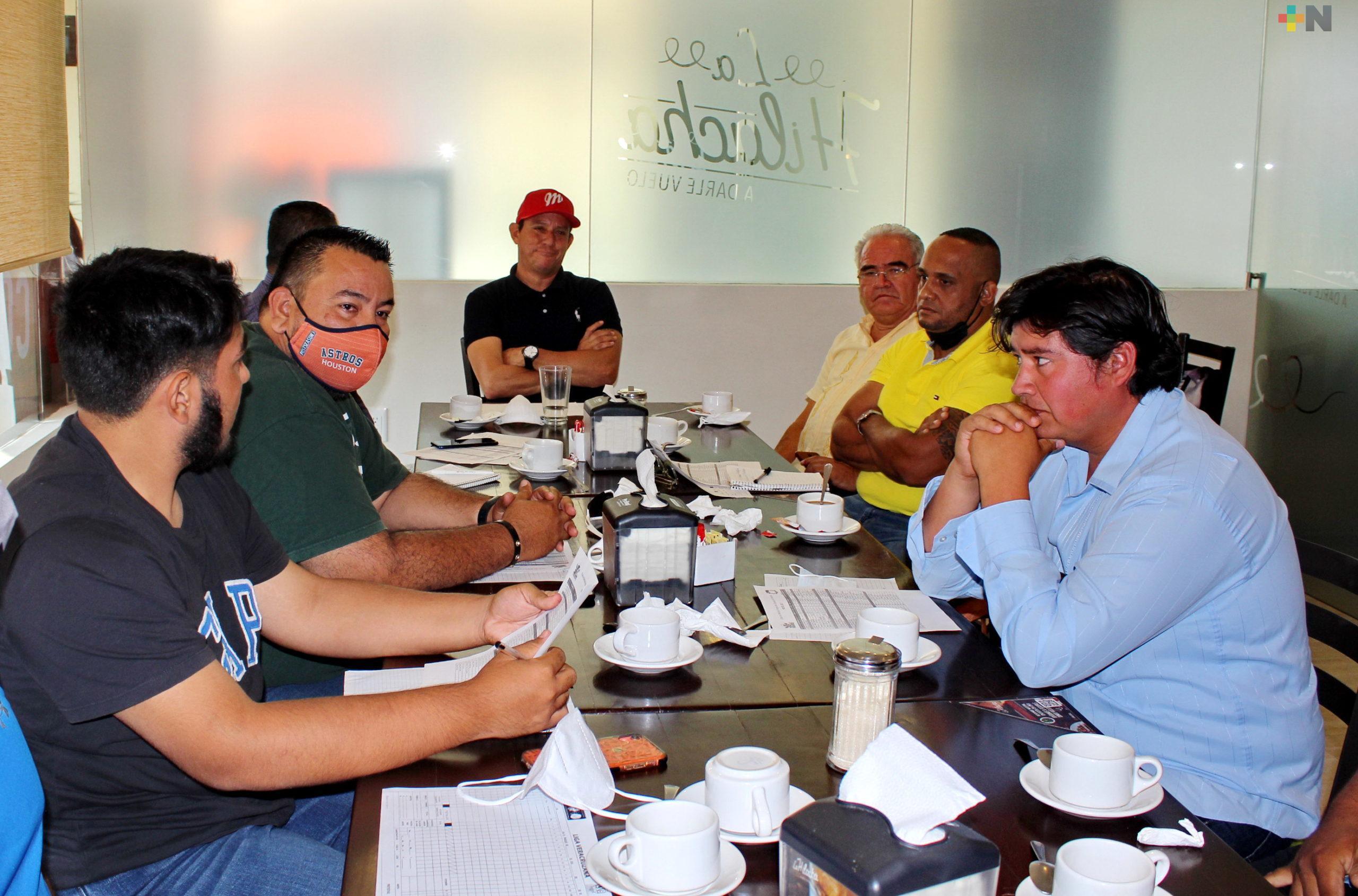 Ocho equipos participarán en la Liga Veracruzana de Béisbol 2020-2021