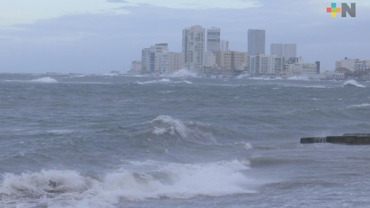 Afectaciones menores deja Frente Frío 18 en Veracruz y Boca del Río