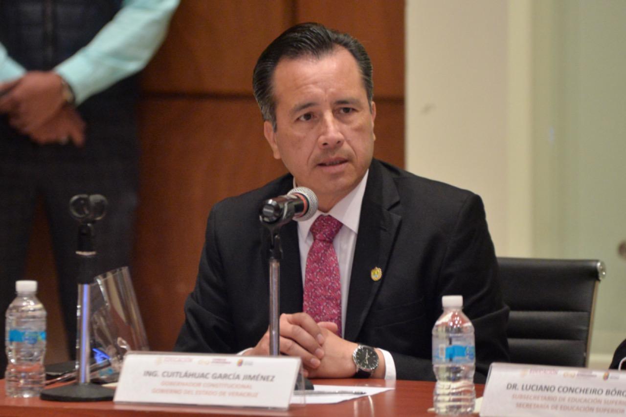 Gobernador Cuitláhuac García terminó 2020 con mayor nivel de aprobación