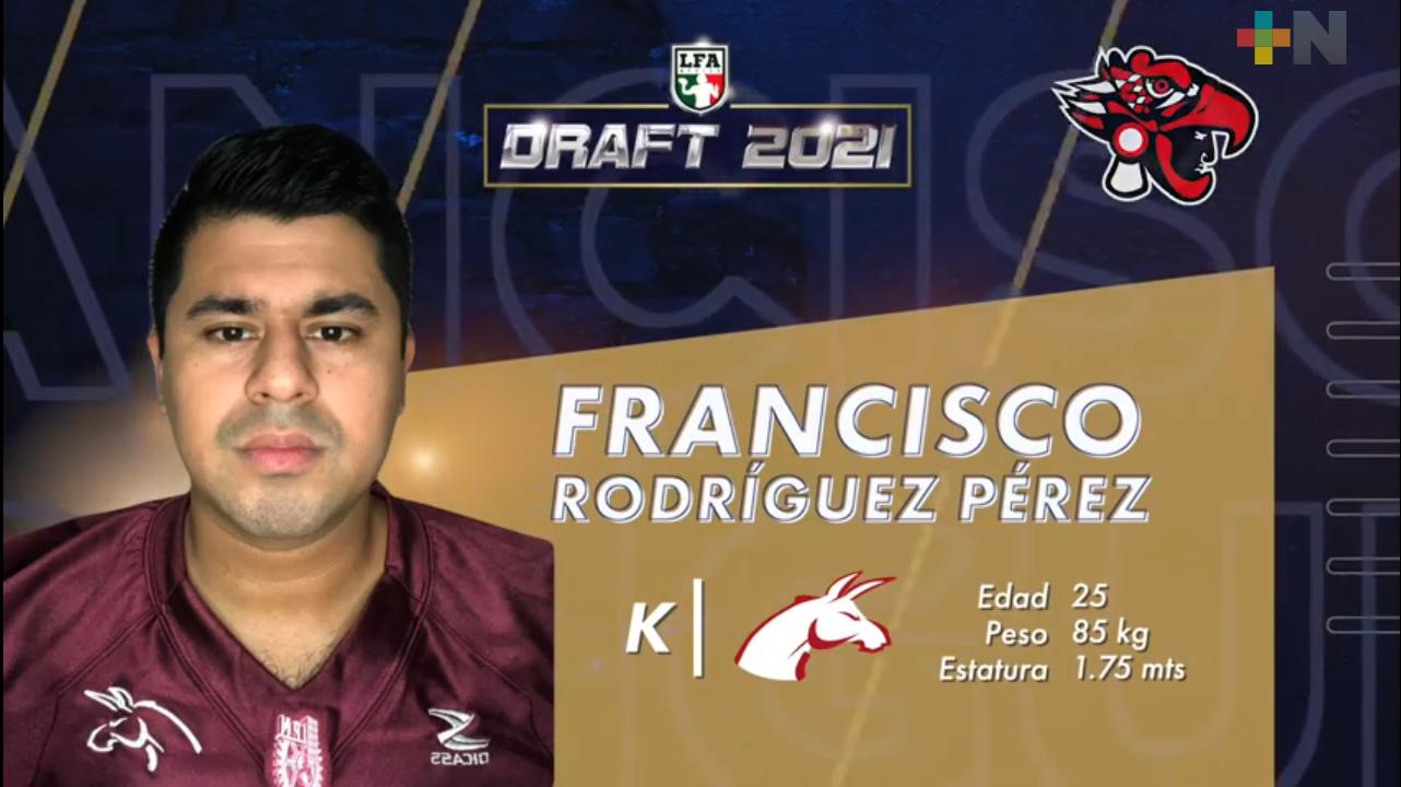 Francisco Rodríguez jugará con Mexicas liga profesional
