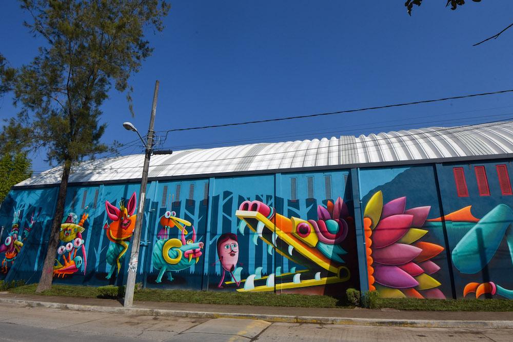 Entregan mural de arte urbano en unidad habitacional Fovissste