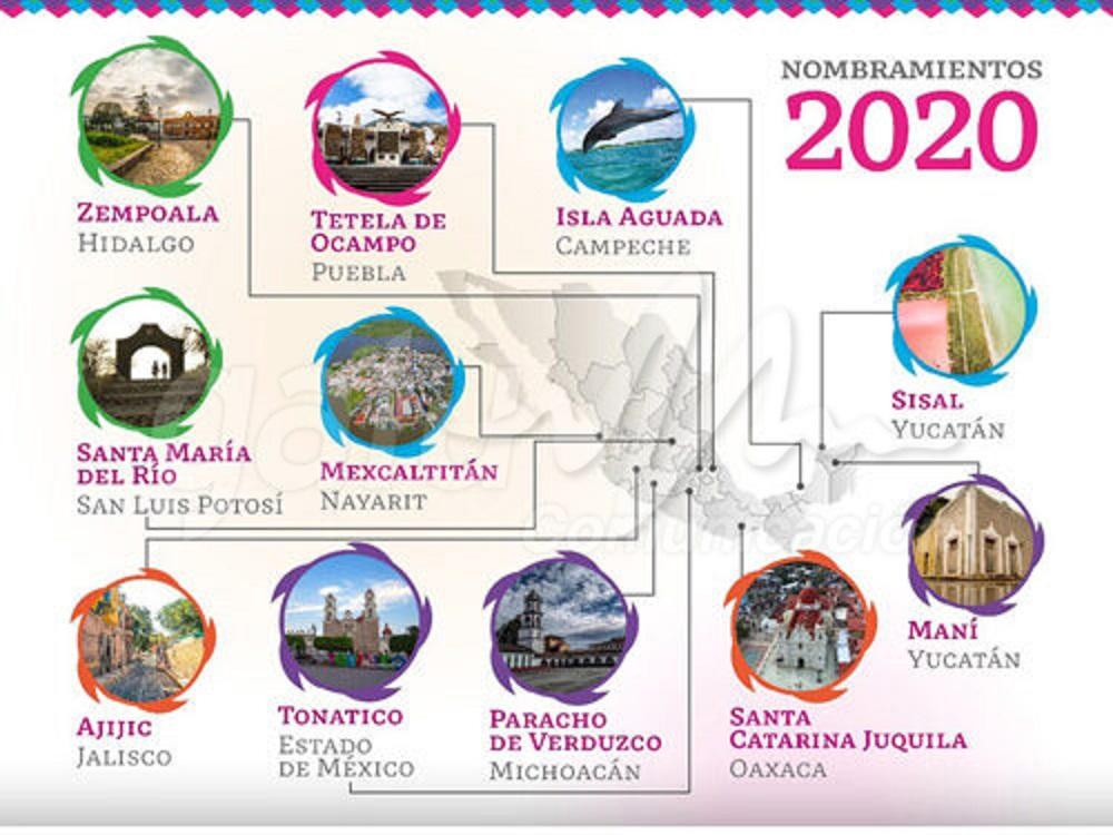 Anuncia Secretaría de Turismo once nuevos Pueblos Mágicos