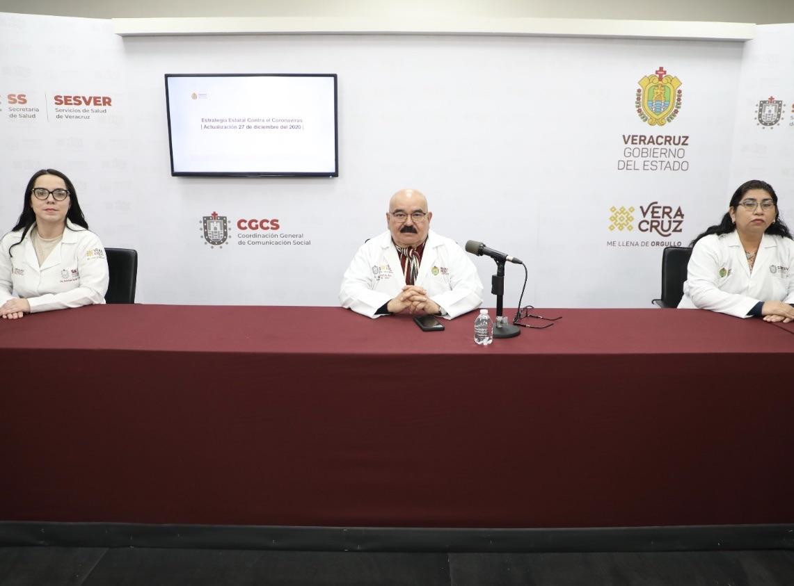 Suman 8 mil 56 muertes y 55 mil 154 casos de COVID-19 en Veracruz