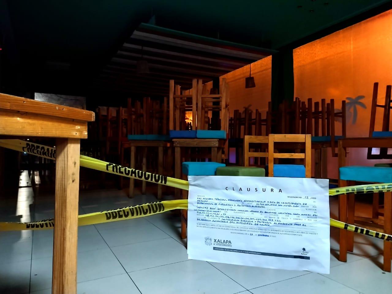 Clausuran negocio en Plaza City, por contaminación acústica