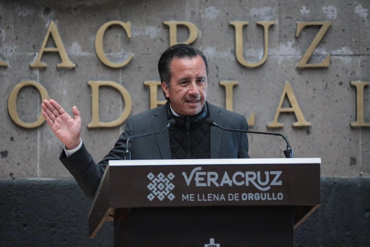 Proyecto de Tuxpan se queda; Veracruz será beneficiado con 4 megaproyectos más: Cuitláhuac García