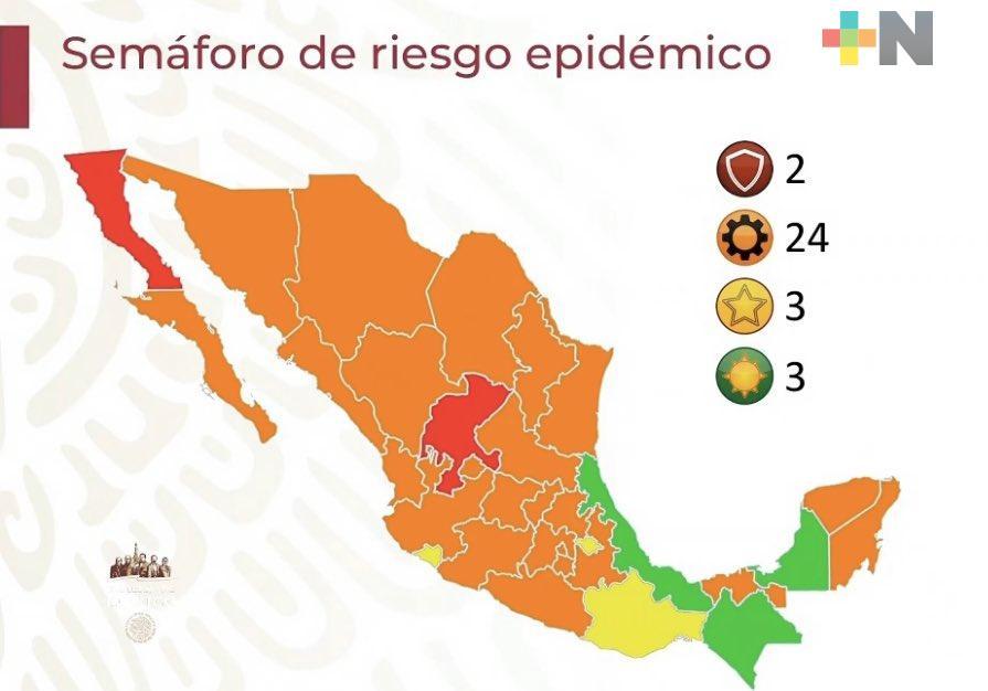 Pasa Veracruz al verde en semáforo epidemiológico