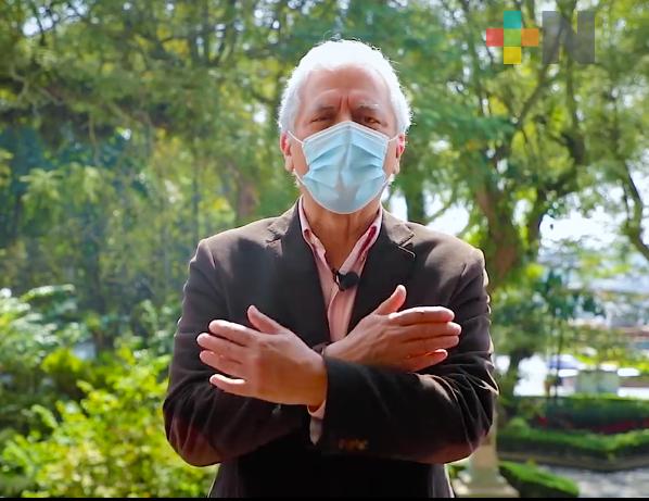 Alcalde de Xalapa envía mensaje de fin de año a ciudadanía