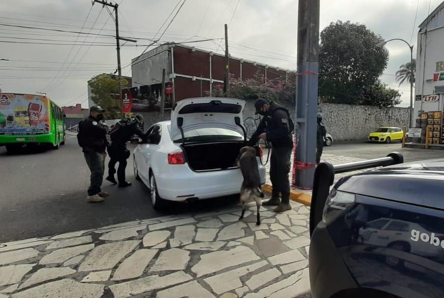 Refuerza Seguridad Pública presencia policial en zona centro de Veracruz