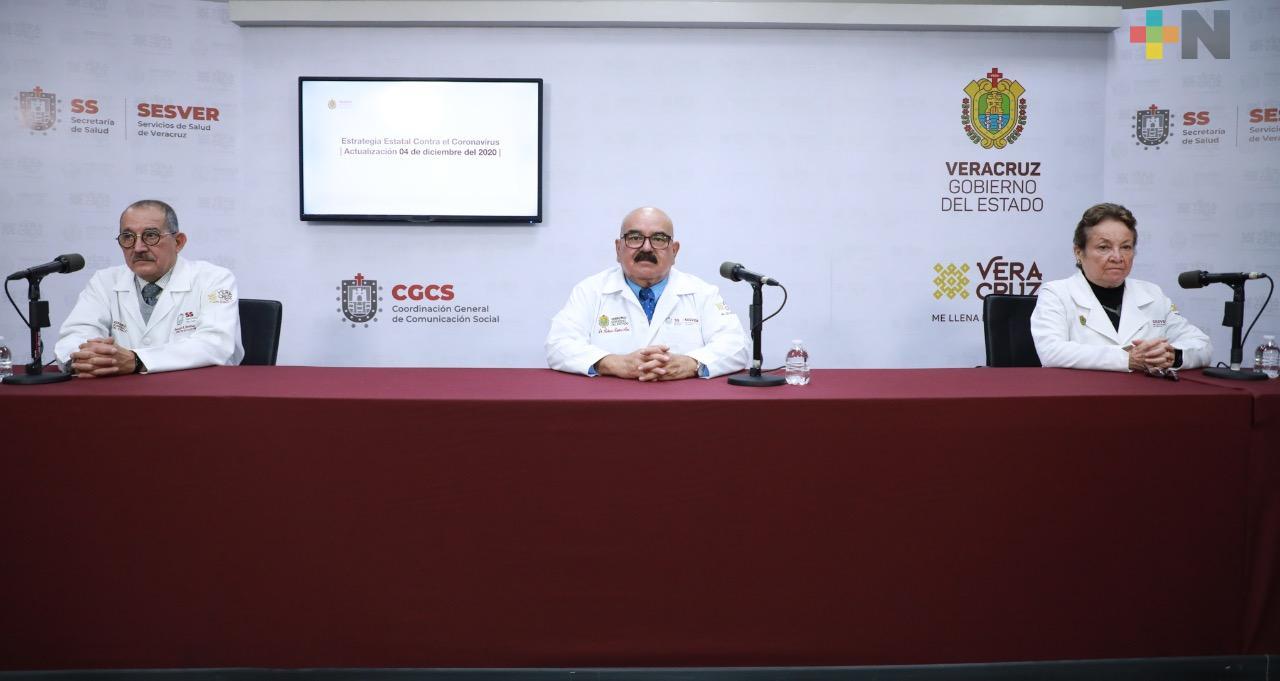 Registra Salud 181 casos nuevos positivos a COVID-19