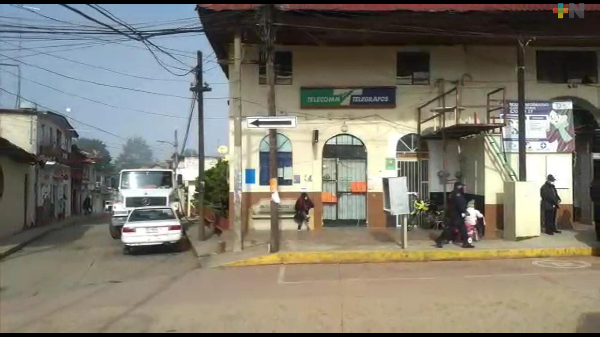 Piden más personal a TELECOMM en Huayacocotla