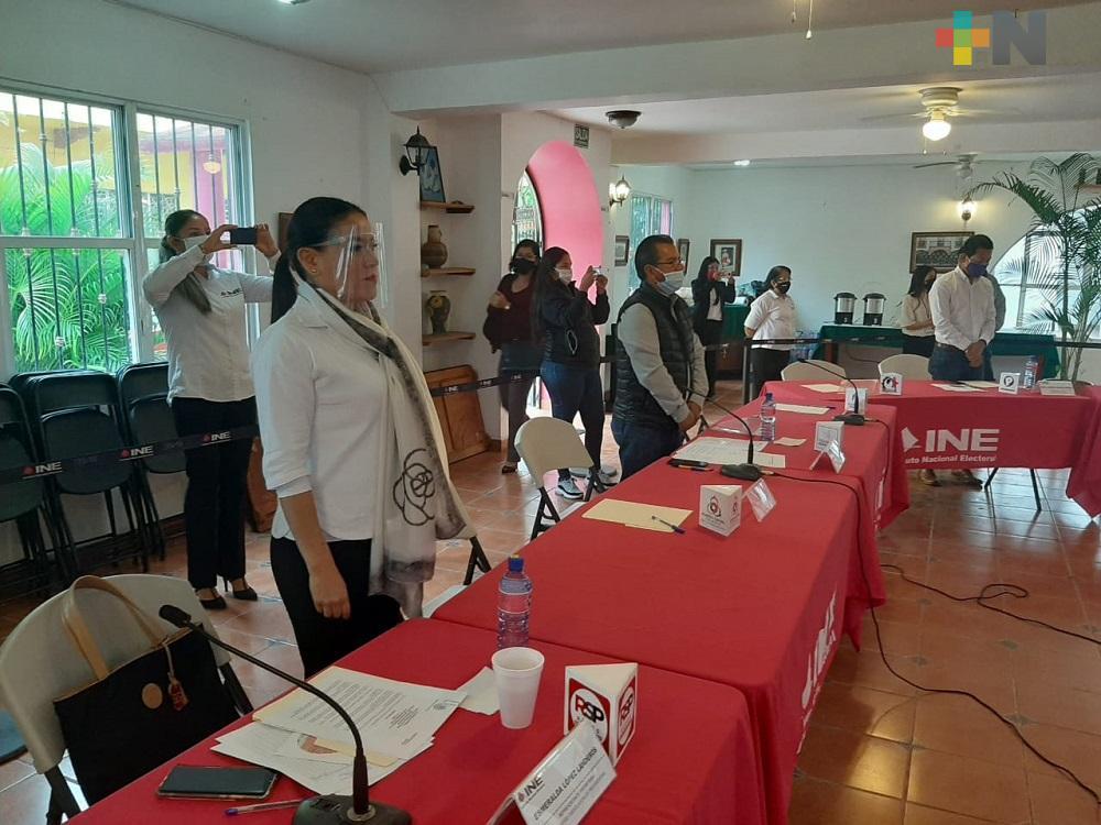 Se instaló 07 Consejo Distrital Electoral en Martínez de la Torre
