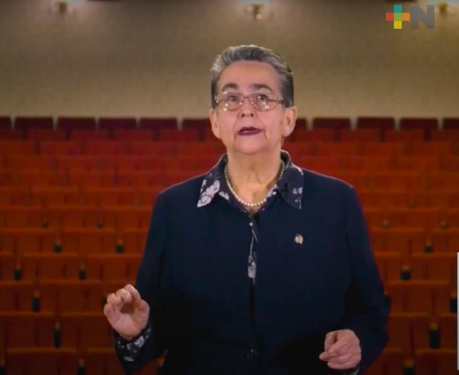 Senadora Gloria Sánchez presentó su segundo informe de actividades