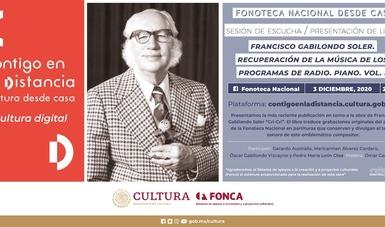 "Presentarán nuevo libro con partituras de ""Cri-Cri"" en próxima sesión de ""Fonoteca Nacional desde casa"""