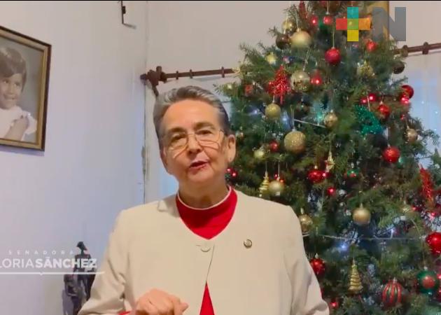 Continuar con la sana distancia, exhorta la senadora Gloria Sánchez