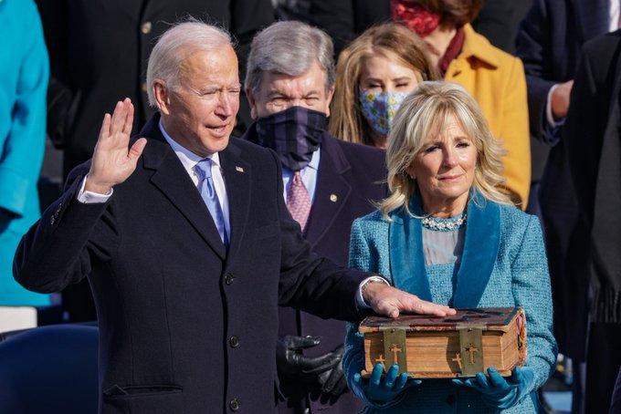 Asumió Joe Biden la presidencia de los Estados Unidos