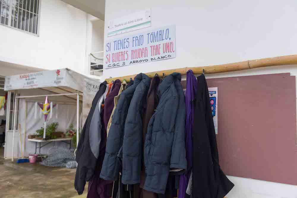 Programa Perchero Solidario busca apoyar a la gente en situación vulnerable