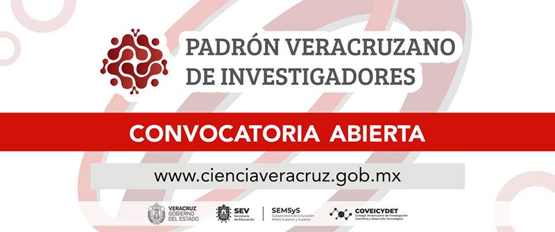 Invita SEV a formar parte del Padrón Veracruzano de Investigadores