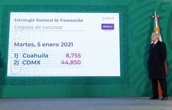 Segunda etapa de vacunación contra COVID-19 iniciará con adultos mayores en zonas rurales: presidente
