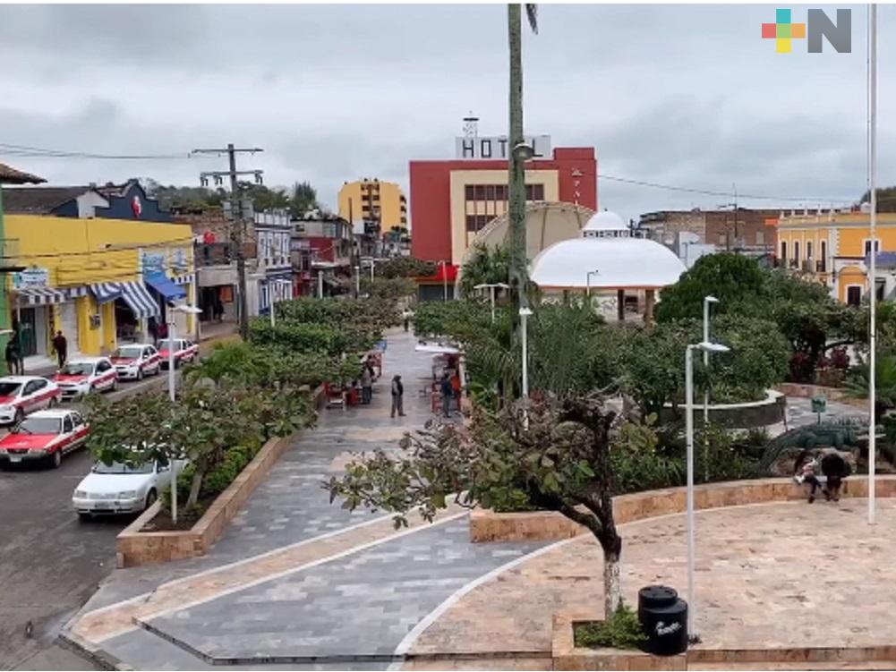 Alcalde de Gutiérrez Zamora exhorta a ciudadanos a cumplir con restricciones sanitarias y de movilidad