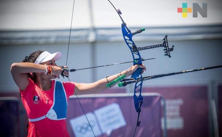 Valentina Vázquez afina puntería de cara a eventos internacionales