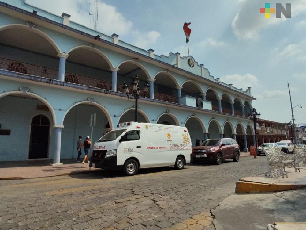 Aumentan medidas sanitarias en Ayuntamiento de Yanga