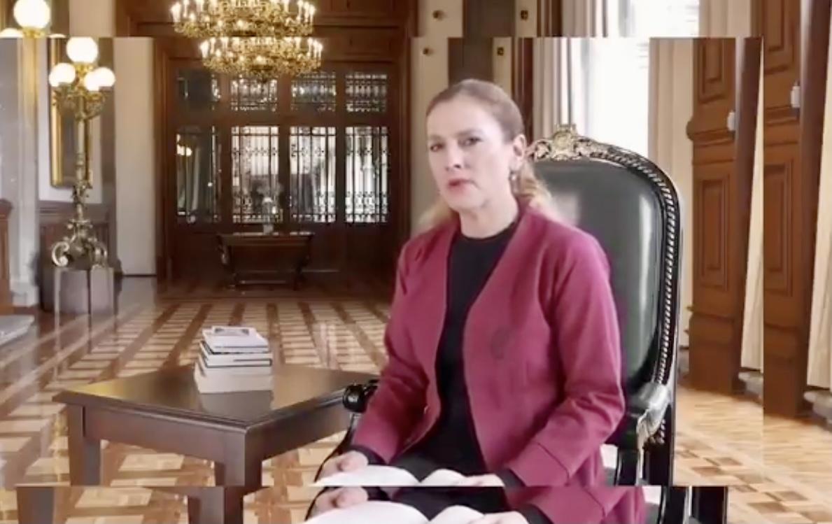 La esposa del presidente dio negativo a covid; Ebrard se aisló por precaución