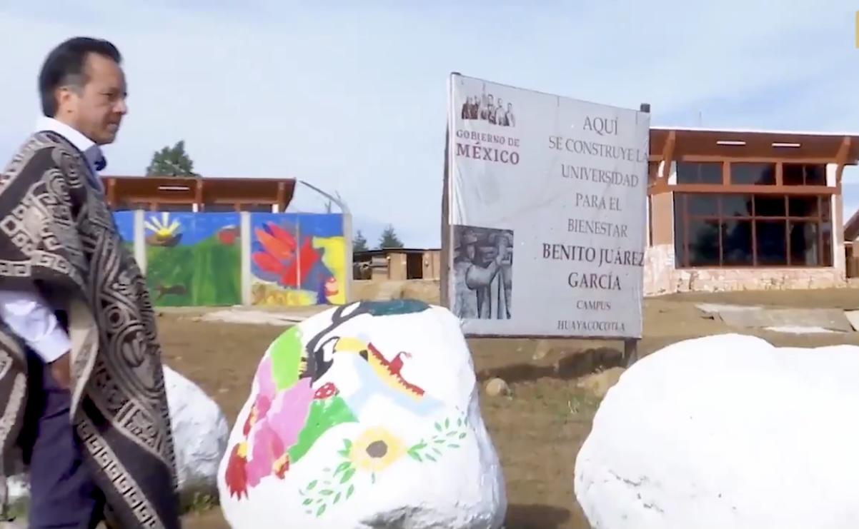 Con más del 90% de avance, la Universidad para el Bienestar Benito Juárez de Huayacocotla es una realidad