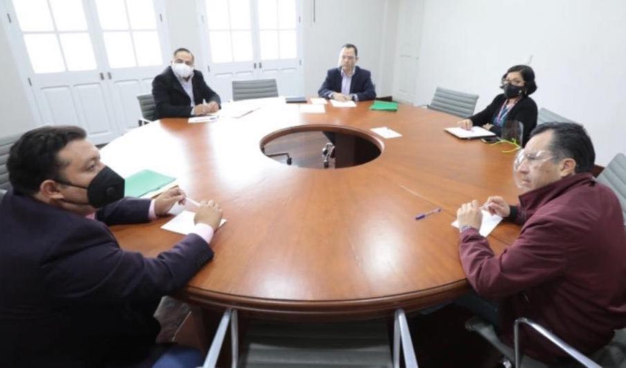 Gobernador Cuitláhuac García coordina trabajos del tema medioambiental