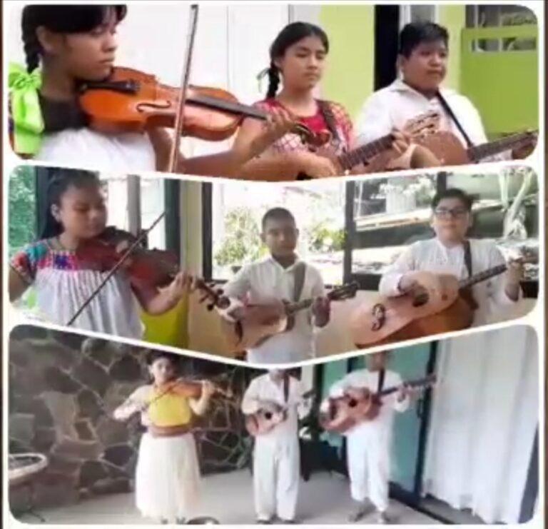 Desarrollo cultural sostenible y música tradicional regional se transmiten desde Casas de la Cultura IVEC