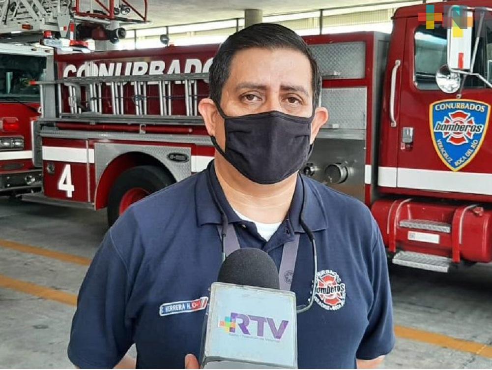 Pacientes ocultan tener covid, por temor a no ser atendidos: Bomberos de Veracruz