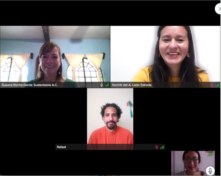 Presenta Centro Cultural del Sotavento conversatorio sobre la relación sustentabilidad-comunidad-cultura