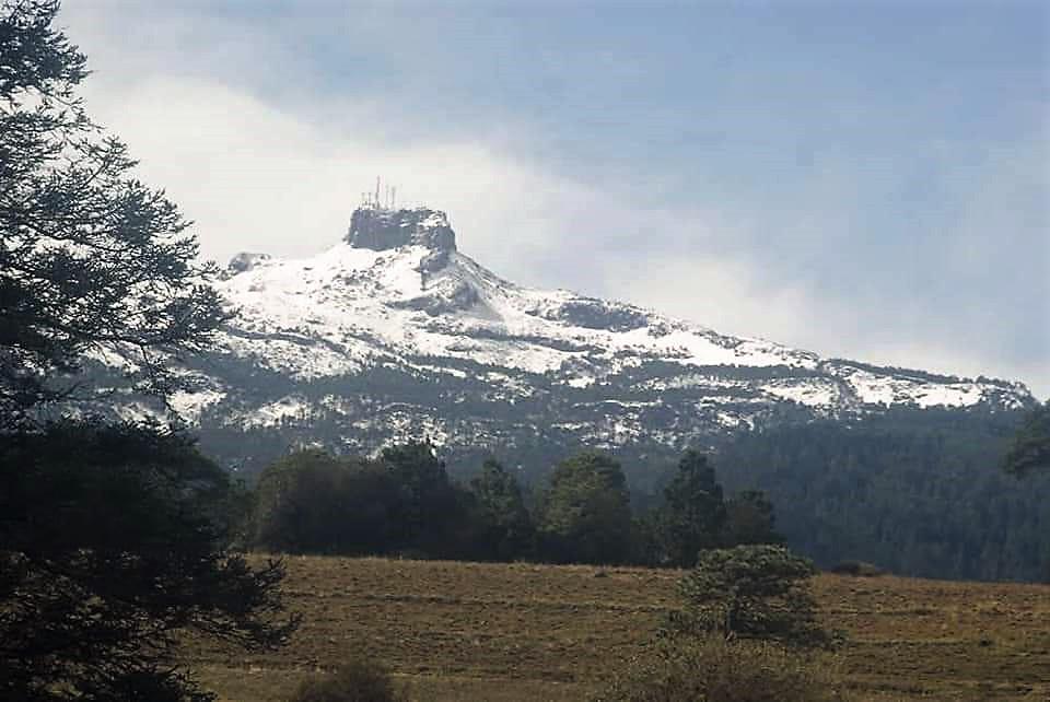 El Cofre de Perote, nevado