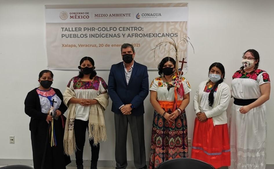 Conagua impulsa participación de comunidades indígenas en el Programa Hídrico Regional en Veracruz