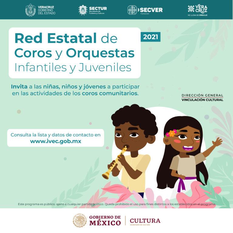 IVEC invita niños y adolescentes a las actividades de la Red de Coros Comunitarios