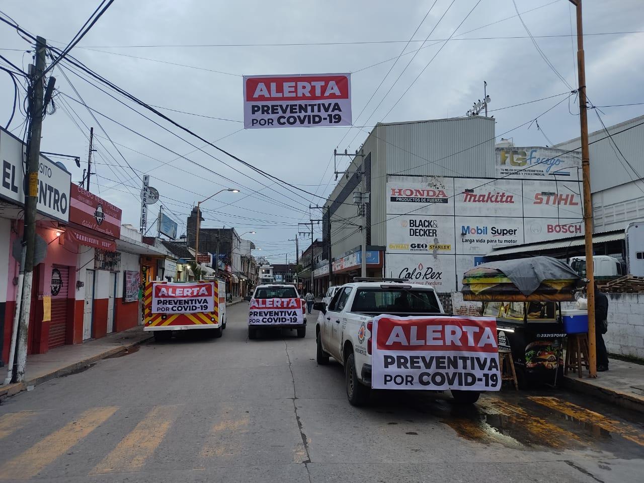 Protección Civil exhorta a mantener medidas preventivas en Martínez de la Torre