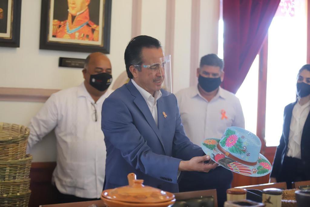 Gobierno estatal apoyará a los artesanos de Veracruz con la apertura de tienda