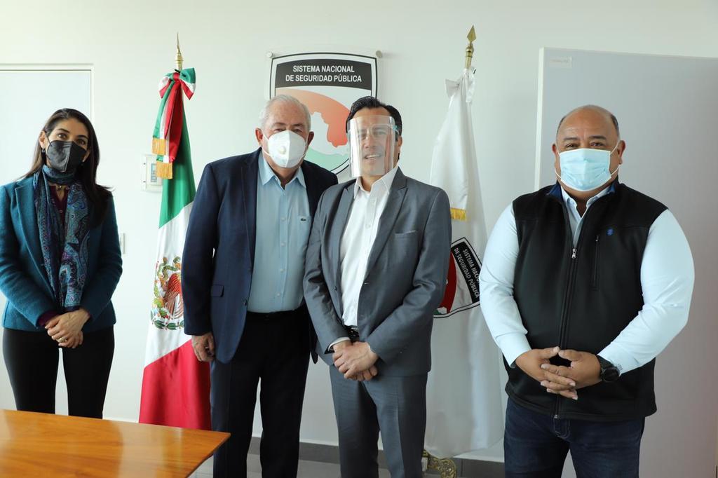 El gobernador de Veracruz se reunió con el secretario Ejecutivo del Sistema Nacional de Seguridad Pública