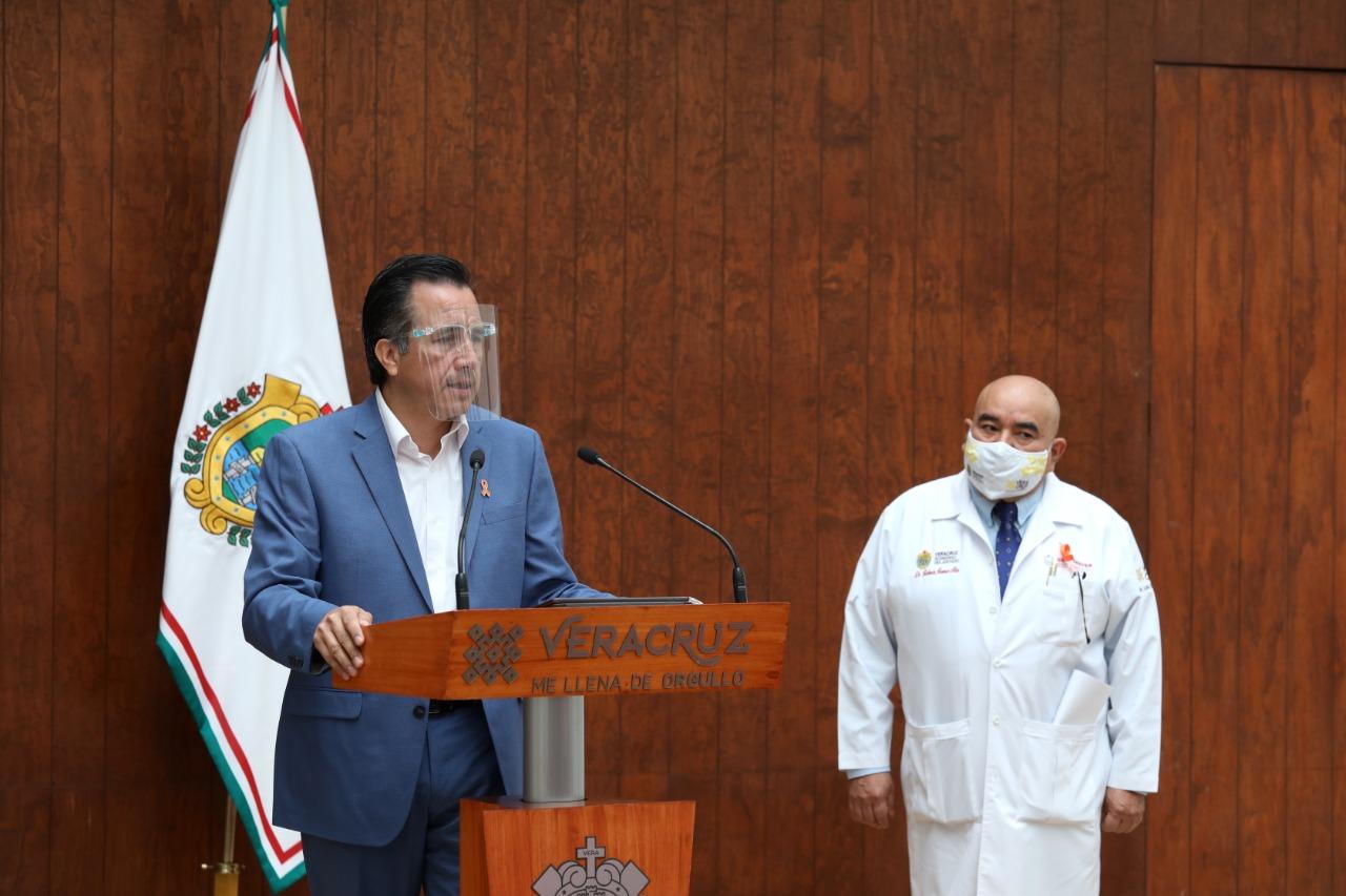 Confirma Cuitláhuac García Alerta Preventiva de seis días y home office para el Gobierno del Estado de Veracruz