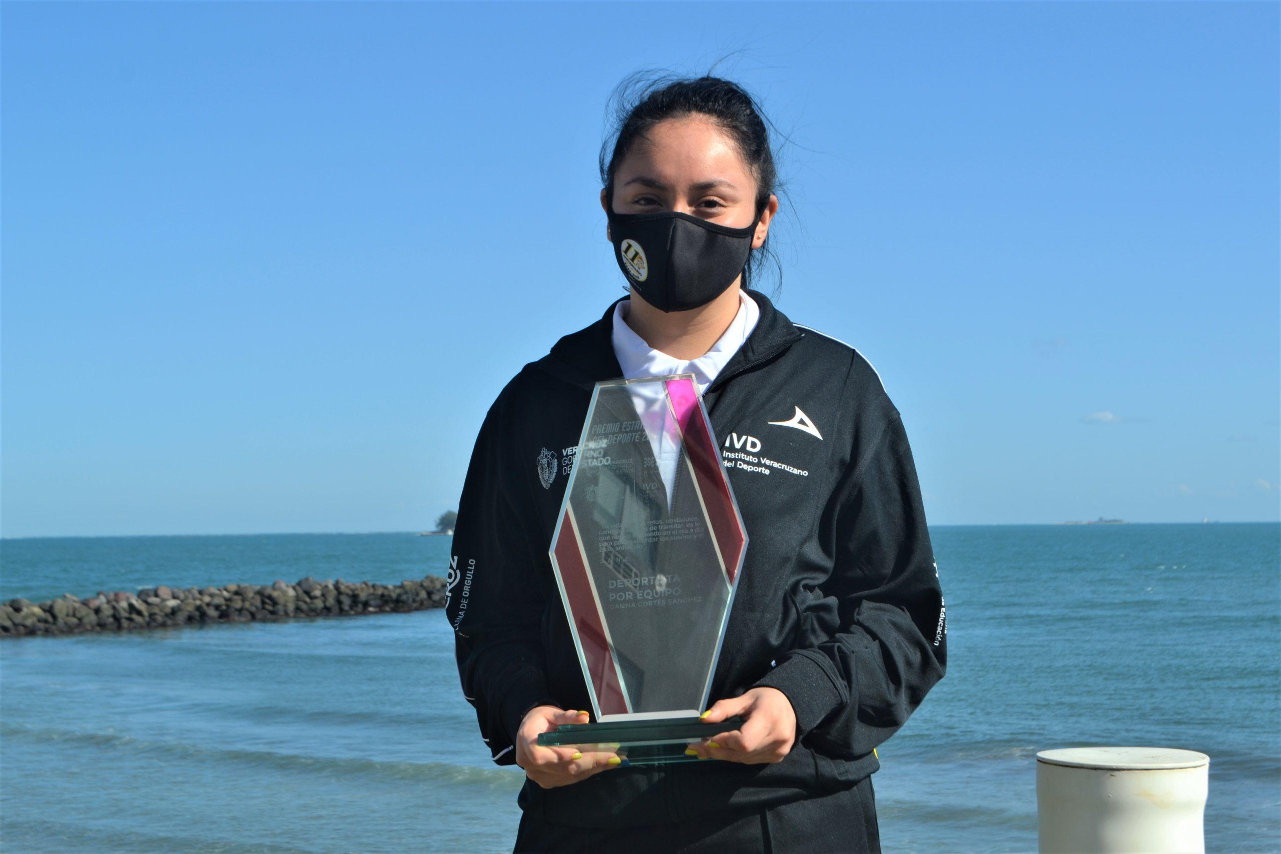 Danna Cortés en la mira de torneos internacionales de playa