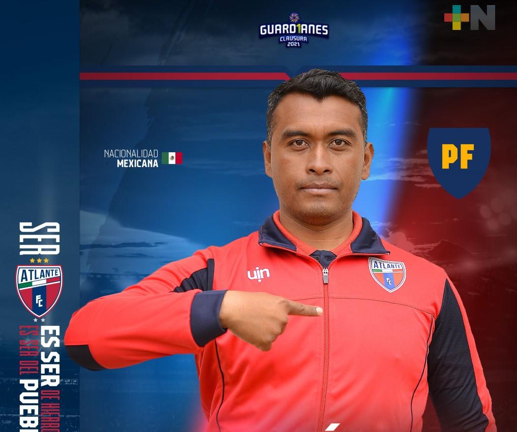 Darío Gutiérrez, nuevo preparador físico del club Atlante