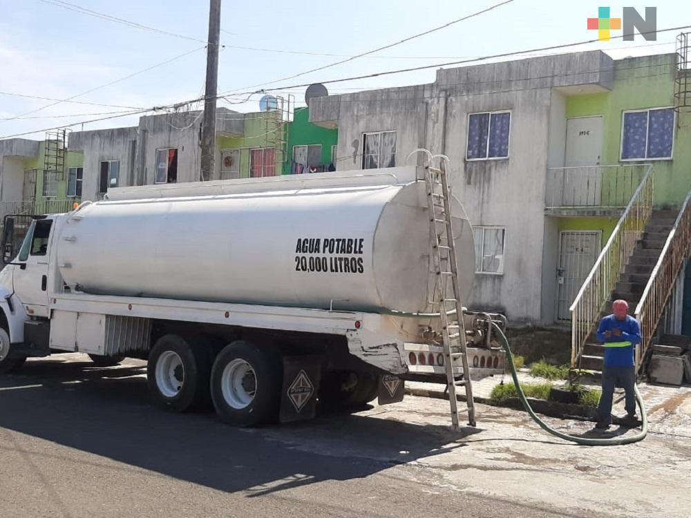 Desde hace nueve meses colonos de Infonavit El Proletariado del municipio de Veracruz carecen de agua potable